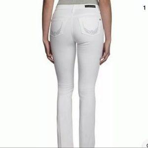 Rock & Republic Kasandra White bootcut Jeans